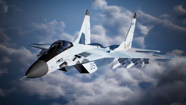 MiG-29A -3 Tone Flora-