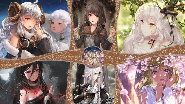 New Anime Wallpaper's (Full-HD) - 07.07.20