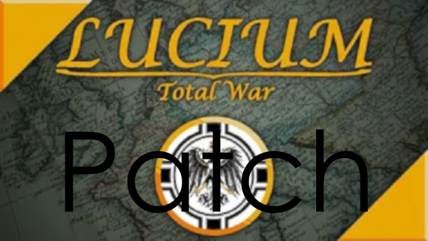 Lucium Total War, Required Patch for 2.5. (REDUNDANT)