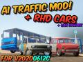 AI Traffic (& RHD Cars) Mod v40
