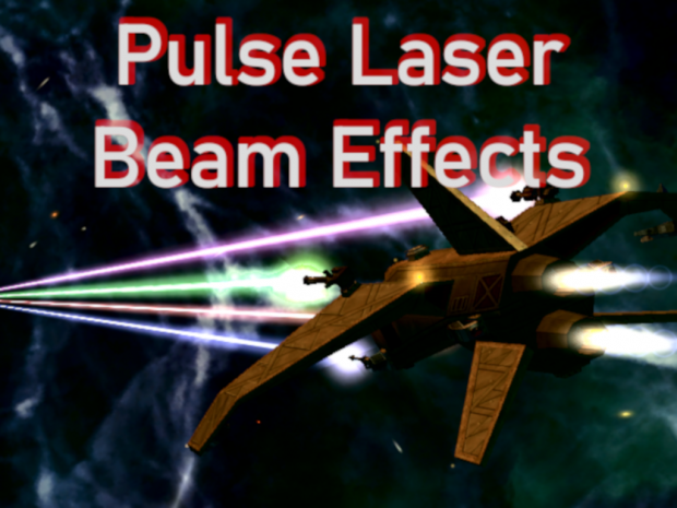 Freelancer Pulse Laser Beams