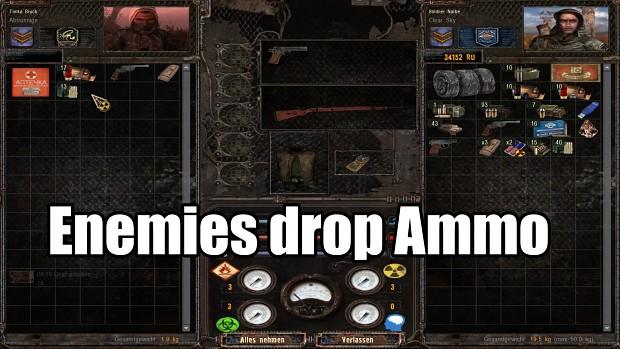 Enemies drop Ammo 0.2 for Arsenal Overhaul Redux 1.4