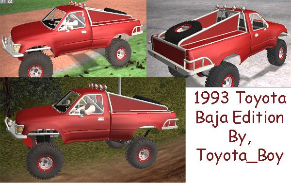 1993 Toyota Baja Truck