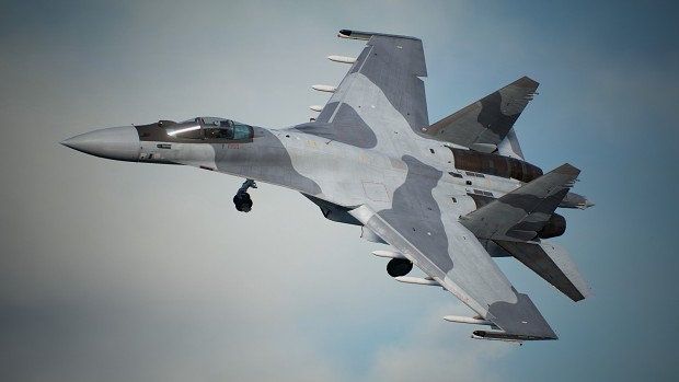 Su-35S -Arid Grey-