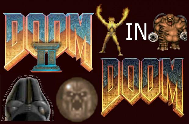 Doom 2 in Doom (modificated)