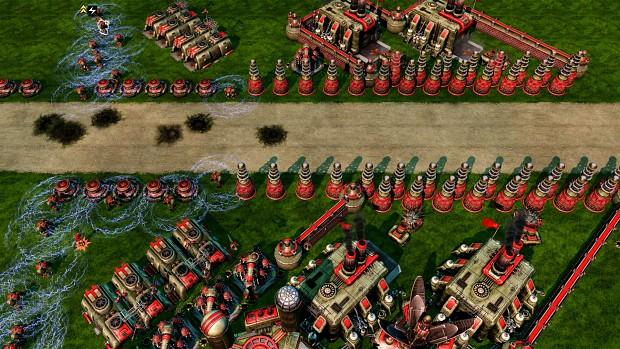C&C Red Alert 3 212 Maps