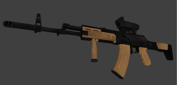BF4 AK-12 w/ grip and PKA-S