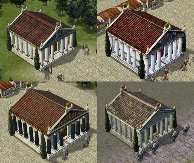 Bronze Temple Skin Pack