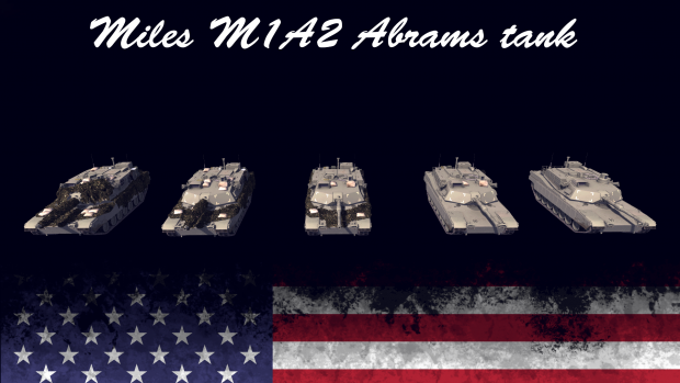 Miles M1A2 Abrams tank