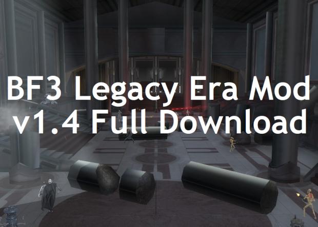 BF3 Legacy Era Mod v1.4 [Full Download]