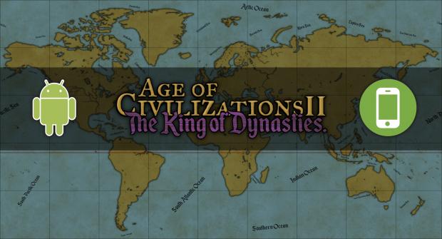 AoC II Kings of Dynasties Android Version