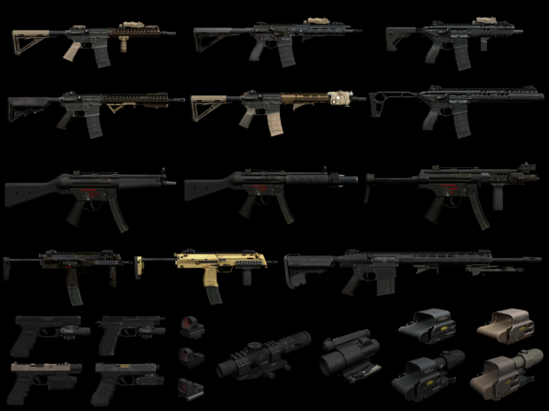 Weapons Pack for Singleplayer - February 2021 update