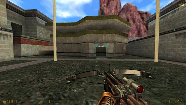 HL1 HD Weapons With HL:S HD HEV Sleeve Textures