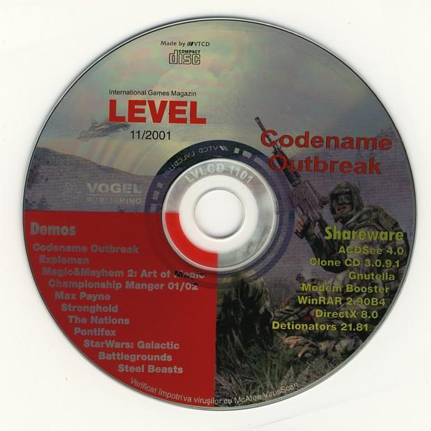 LEVEL October 2001 CD-Rom