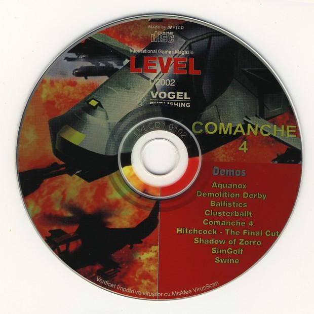 LEVEL December 2001 CD-Rom
