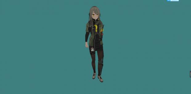 Girls Frontline UMP40