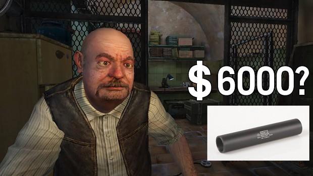 Expensive suppressors
