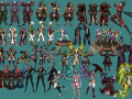 Land of Chaos Online' 3D Models Part 1
