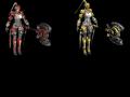 Scarletblade' 3D Models Pack