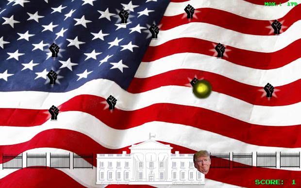 MAGA - v1.2. - Space shooter under a political mask