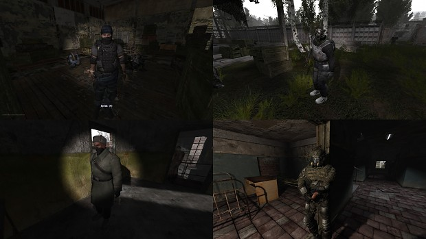RP Outfits Addon for S.T.A.L.K.E.R. Anomaly