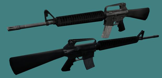 Vanilla M16A2 on MW2K19 Animations