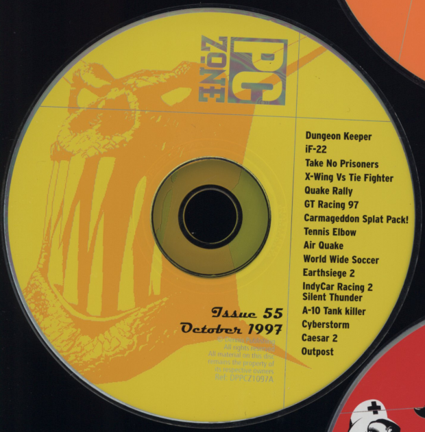 PC Zone Issue #55 CD-Rom
