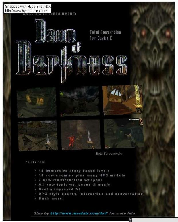Dawn of Darkness 1.1 patch