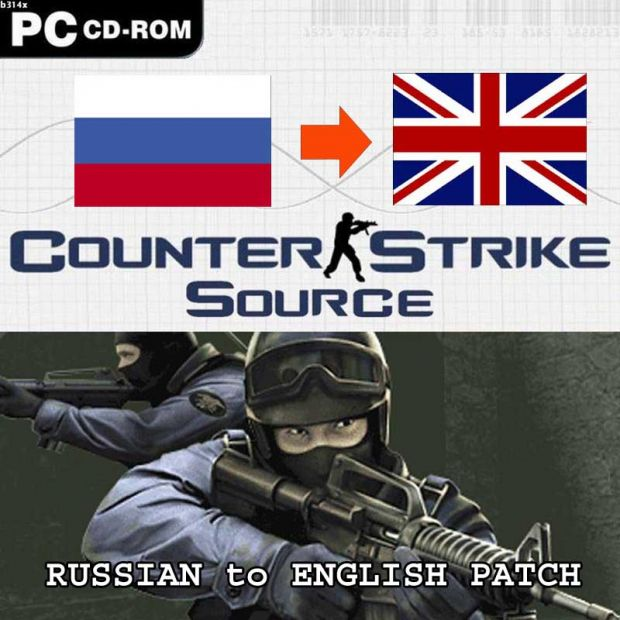 CS Source Russian to English Language Patch