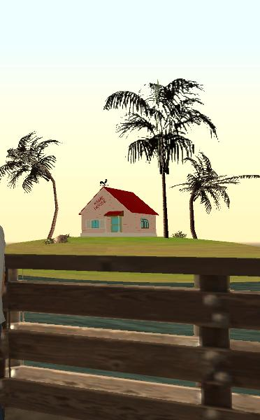 "Kame House (from ""Dragon Ball"") for GTA SA"