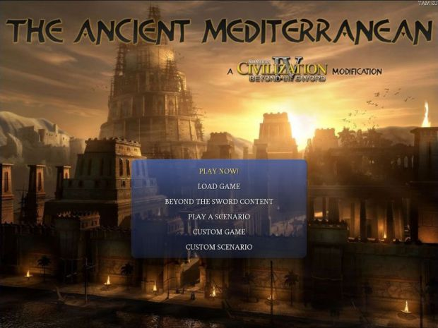 CIV4-BTS: The Ancient Mediterranean v0.90