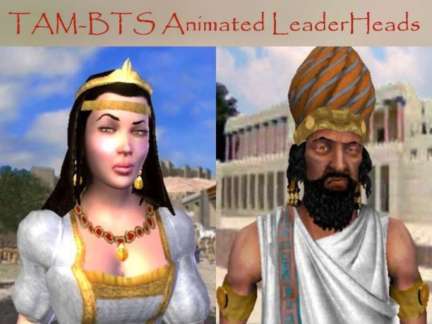 TAM BTS Animated LeaderHeads Addon