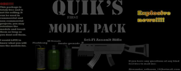 Quikies first modelpack