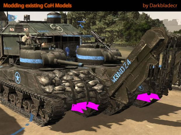 Adding assets to CoH models