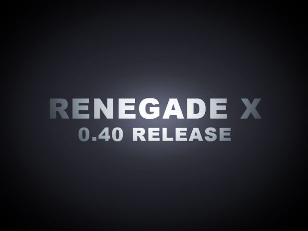 Renegade-X v0.40 Beta Full (OBSOLETE)