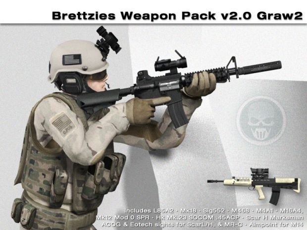 Brettzies Weapon Pack Intro Vids v1.4 and v2.0