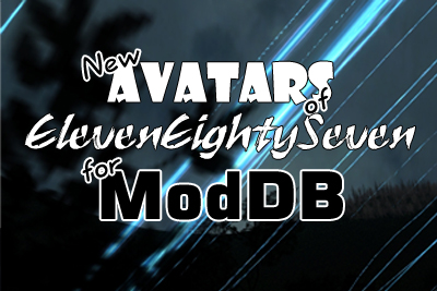 New 1187 Animated Avatars for ModDB