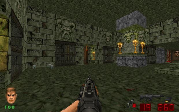 Marble Terror Single/Multiplayer Map for Brutal Doom/Schism