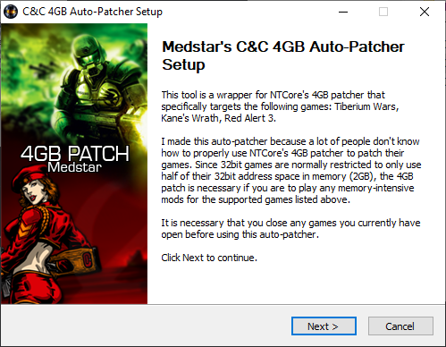 C&C 4GB Auto-Patcher v1.00