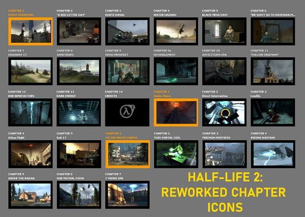 HL2 Reworked Chapter Icons (reupload)
