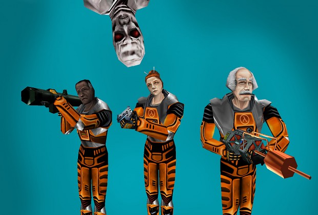 Sweet Half Life Models Enhanced!