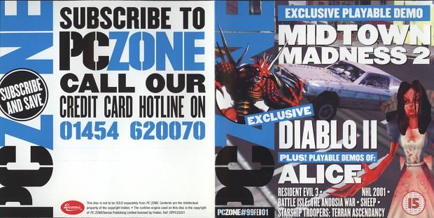 PC Zone #99 CD-Rom
