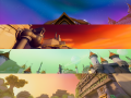 Classic Colors: Skybox Pack 4
