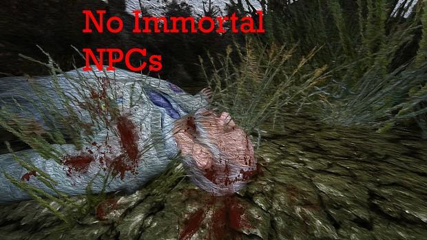 No Immortal NPCs 1.1 [COTZ 1.2]