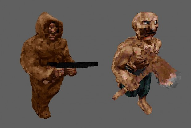 Chillo Zombie Voxel Pack (Old)