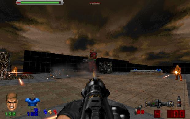 """Zombie Land"" v2 Single/Multiplayer Map for Brutal Doom v21"