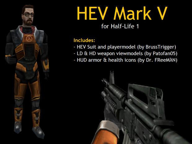 HEV Mark V for Half-Life (Full Pack)