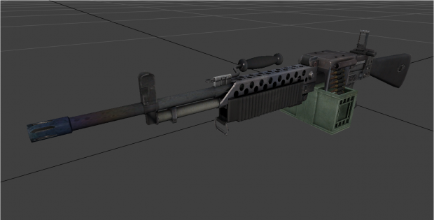 Bad Company 2 Vietnam XM22 Machinegun