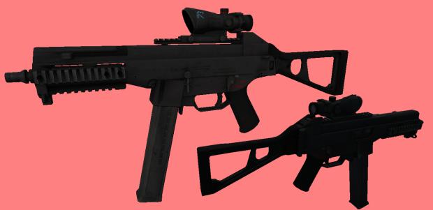 BF4 UMP-45 on MW2 Animations
