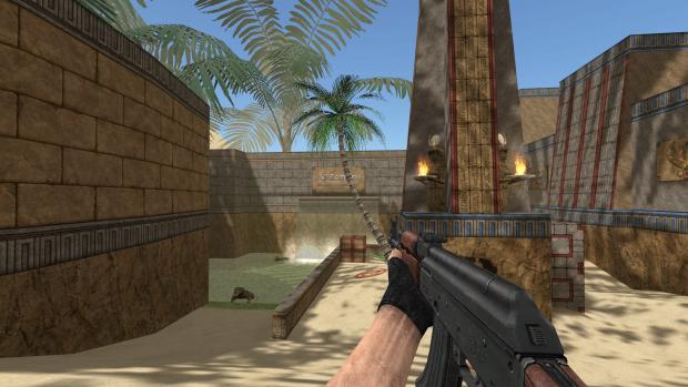 Darkstorn's AK-47 on CS:GO animations